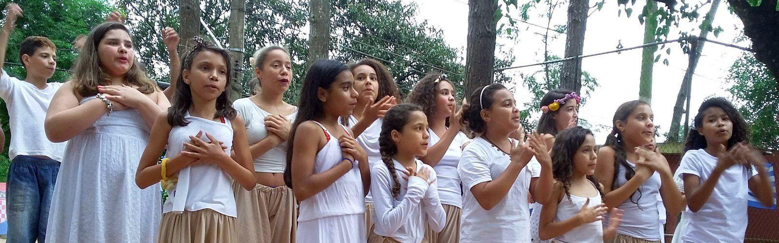 Chor der Waldorfschule Sao Paulo