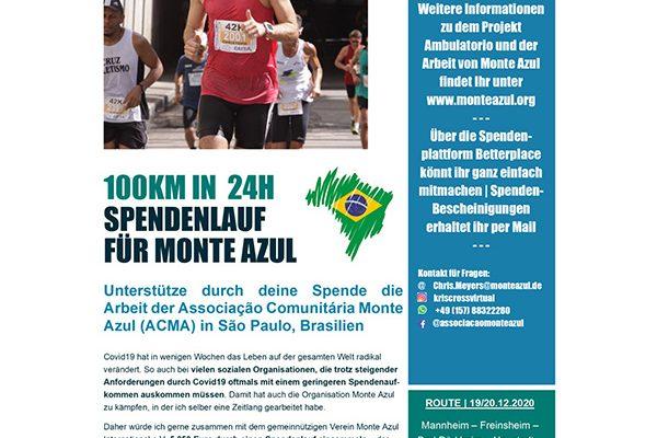 Spendenlauf Monte Azul